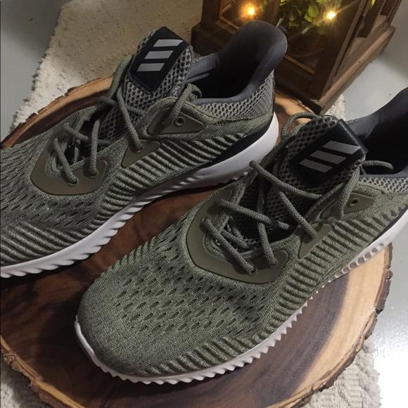61d507c37ea1e adidas Shoes - Adidas alpha bounce EM. Olive trace cargo